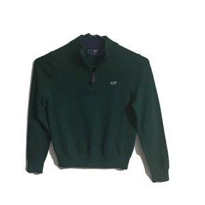 Vineyard Vines dark green sweater. 7